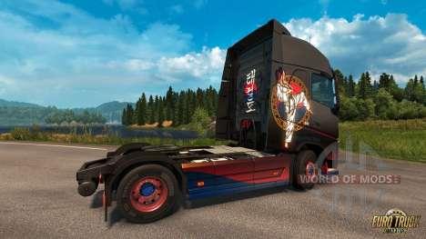 Taekwondo-скин для Euro Truck Simulator 2