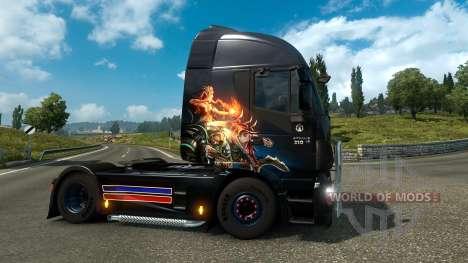 Gamer Paradise-скин для Euro Truck Simulator 2