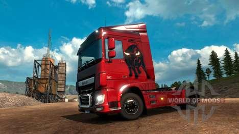 Пак испанских скинов для Euro Truck Simulator 2