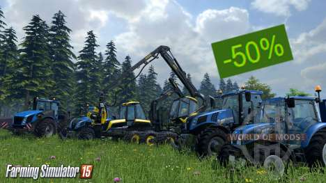 Скидка на Farming Simulator 15