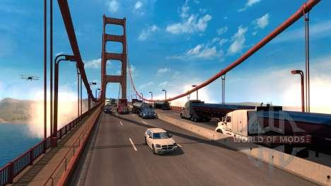 Увеличение игрового мира American Truck Simulator