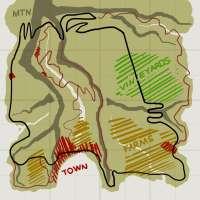 Схема карты Италия для BeamNG Drive