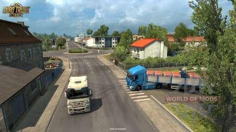 Доставка грузов в Ла-Рошель из обновления Vive La France для Euro Truck Simulator 2