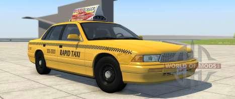Такси-вариант Grand Marshal из BeamNG Drive