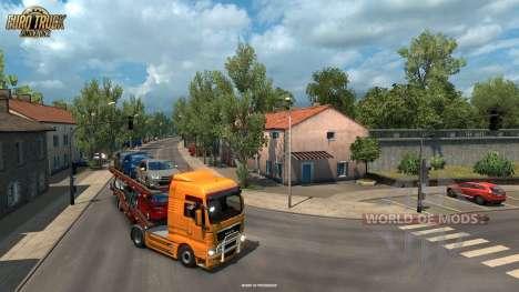 Узкие удочки Ла-Рошеля из обновления Vive La France для Euro Truck Simulator 2