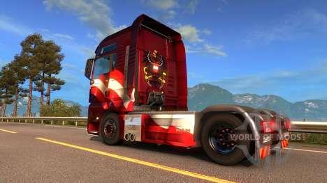 Австрийский скин в Euro Truck Simulator 2