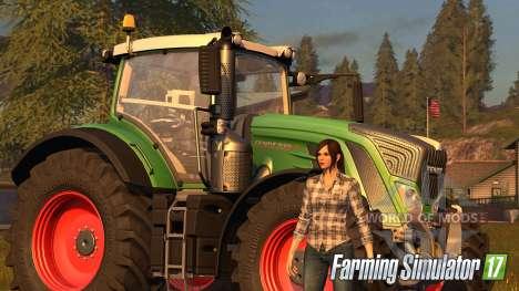 Женские персонажи в Farming Simulator 2017