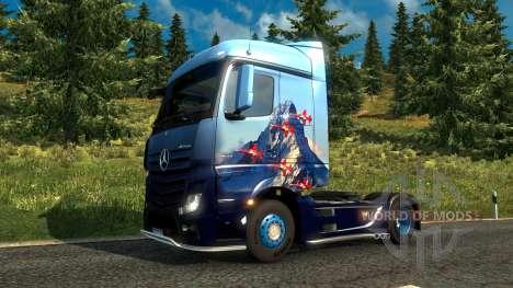 Швейцарский скин в Euro Truck Simulator 2