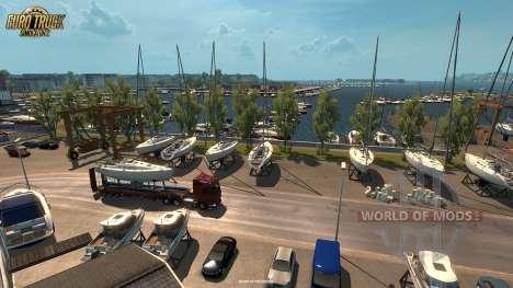 Новая порция скриншотов из обновления Vive La France для Euro Truck Simulator 2