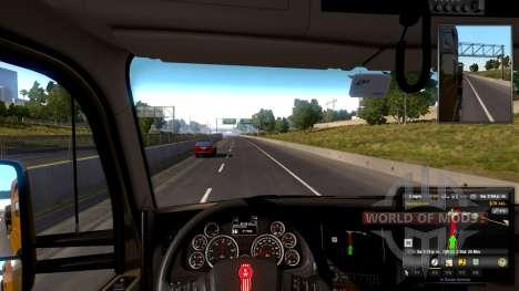 Настраиваемое рулевое колесо в American Truck Simulator