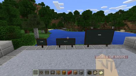 Классные доски в Minecraft Education Edition