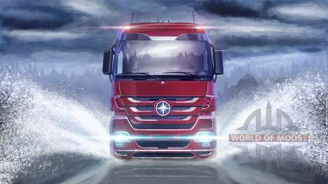 По водной глади в Euro Truck Simulator 2
