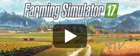 Трейлеры Farming Simulator 2017