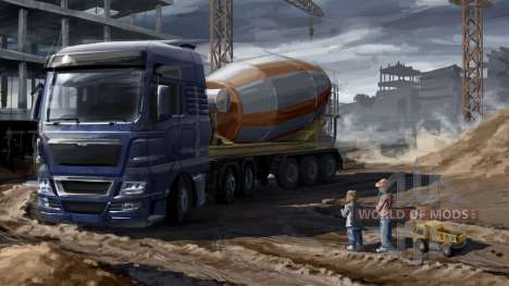 Отцы и дети в Euro Truck Simulator 2