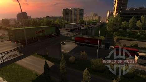 Франция в Euro Truck Simulator