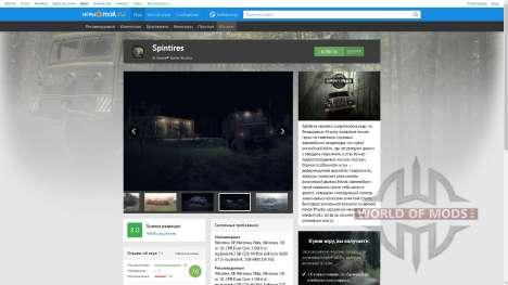 Spintires в магазине Mail.ru