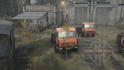 Как открыть гараж в Spintires
