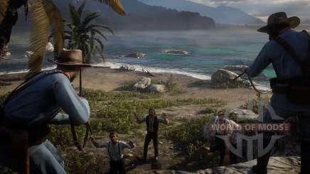 Red Dead Redemption 2: испытание стрелка