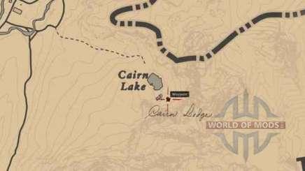 Карта сокровищ Red Dead Redemption 2