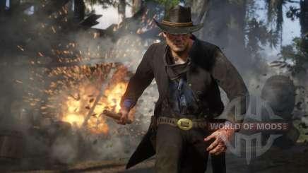 Red Dead Redemption 2: динамит