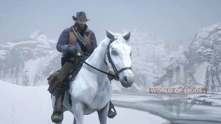 Red Dead Redemption 2: концовка с лошадью