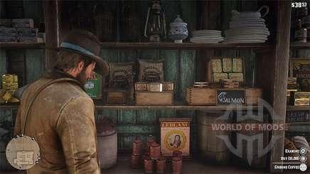Как сделать кофе в Red Dead Redemption 2