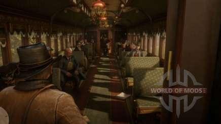Red Dead Redemption 2: ограбление поезда