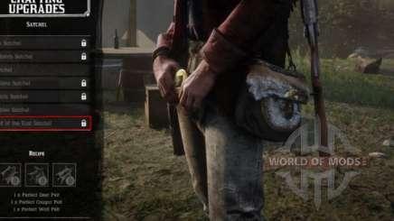 Red Dead Redemption 2: улучшение сумки