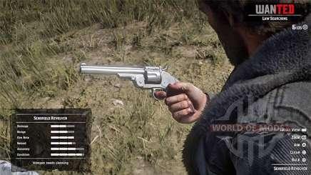Red Dead Redemption 2: починить оружие