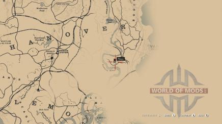 Местонахождение шляпы гражданской войны
