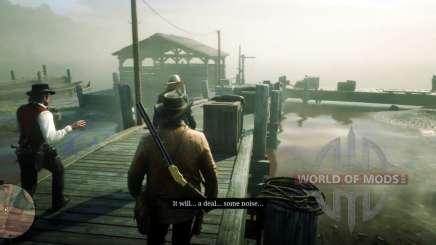 Миссия в Red Dead Redemption 2 - визит вежливости