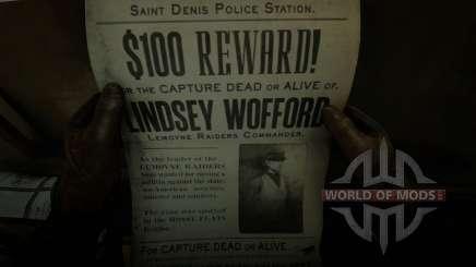 Охота на Линдси Уоффорда