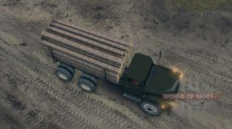 ГАЗ-52 модифицированный для Spin Tires