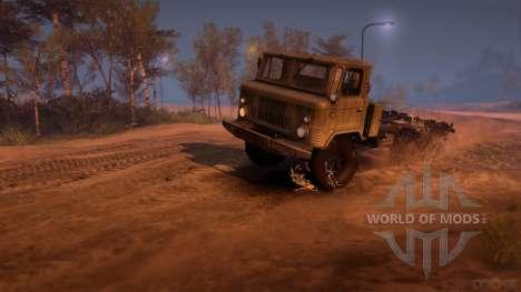 ГАЗ-34 (6x6) для Spin Tires