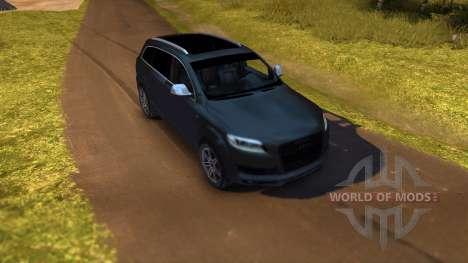 Audi Q7 для Spin Tires