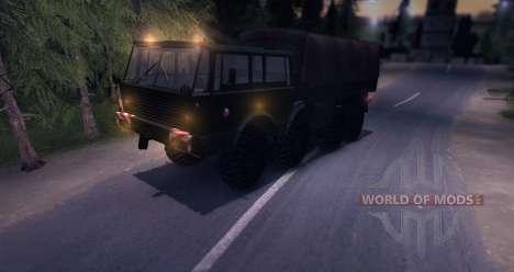 Tatra 813 8x8 чешской армии Final для Spin Tires