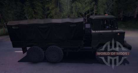 ГАЗ 34 для Spin Tires