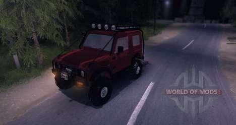 Suzuki Samurai SJ 413 FULL для Spin Tires