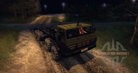 КрАЗ 6316 Сибирь Beta для Spin Tires
