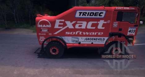MAN TGA 18.531BB DAKAR для Spin Tires