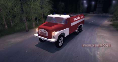 Tatra 148 Firetruck для Spin Tires
