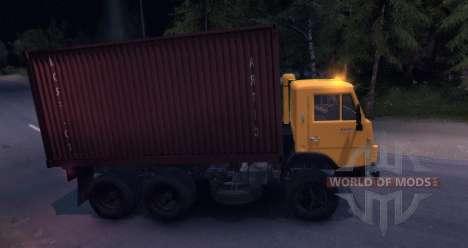 КамАЗ 55102 Контейнер v2.0 для Spin Tires