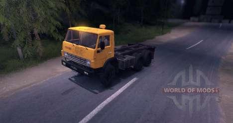 КамАЗ 55102 для Spin Tires