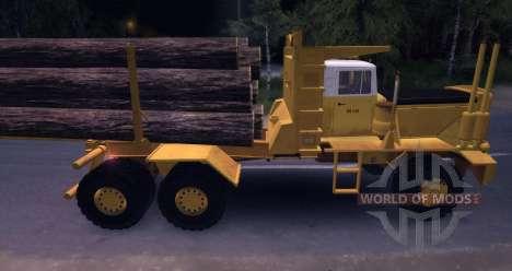 Hayes HQ 142 (HDX) Лесовоз с полуприцепом для Spin Tires