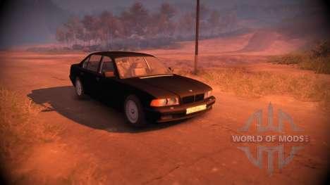 BMW 750Li Shadow Line для Spin Tires