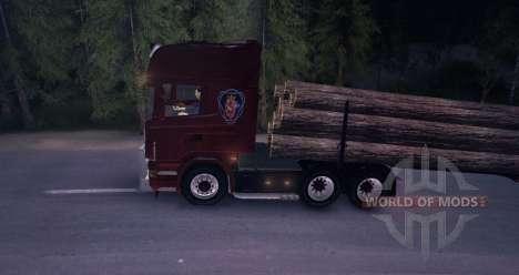 Scania Truck Logger v2.2 для Spin Tires