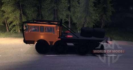 Tatra 813 8x8 TRUCK TRIAL для Spin Tires