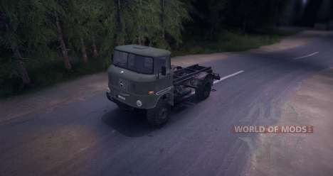 IFA W50LA для Spin Tires
