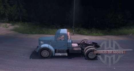 МАЗ 200В для Spin Tires