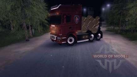 Scania Truck Logger v2.0 для Spin Tires